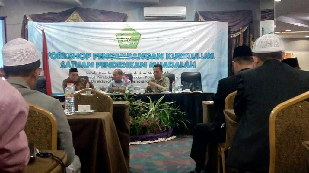 Wakil Pimpinan Pondok Hadiri Rapat Forum Pondok Muadalah Se-Indonesia