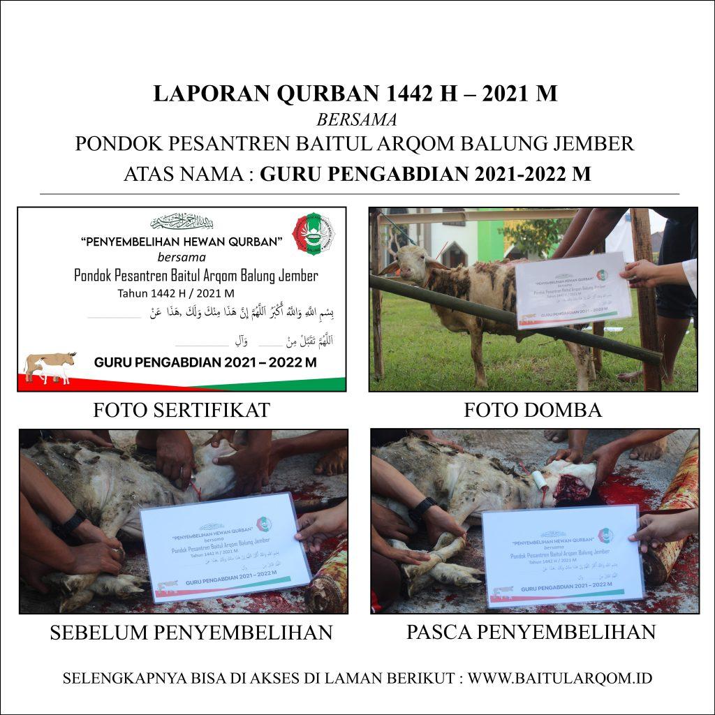 Laporan Qurban 1442 H